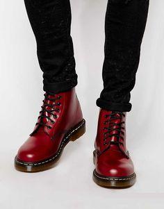 Shop Dr Martens Original Boots at ASOS. Dr. Martens, Botas Doc Martens, Red Doc Martens, Dr Martens Men, Doc Martens Style, Doc Martens Outfit, Me Too Shoes, Men's Shoes, Shoe Boots
