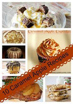 10 Caramel Apple Recipes