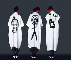 * Ikko Tanaka's famous graphic design studio collaborated with Issey Miyake on this gorgeous new collection.