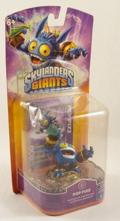 Skylanders Giants Single Character Pack Core Series 2 Pop Fizz NIP #Activision