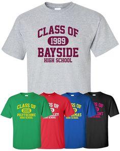 Class Of (Any Year) T Shirt S 4XL High School Reunion Graduation Alumni  Teacher