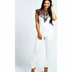boohoo Beth Caged Neck Sleeveless Jumpsuit - ivory We're loving longer-line dressing for day and it doesn't get better than a denim dungaree . Acid wash or bleached, buckle up over a basic tee and you'll have borrowed from the boyfriend in the bag. Fo http://www.comparestoreprices.co.uk//boohoo-beth-caged-neck-sleeveless-jumpsuit--ivory.asp