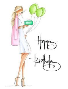 4784 best myfav art amp painting images in 2018 - birthday girl sketch Happy Birthday Wishes Cards, Happy Birthday Girls, Happy Birthday Pictures, Happy Birthday Quotes, Birthday Greeting Cards, 30th Birthday, Happy B Day, Girl Sketch, Card Card