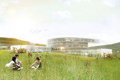 BIG inicia a construção de Centro Educacional nas Ilhas Faroe,© BIG