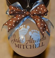 how cute is this, made with the Cricut. - Lots of other cute ideas on site