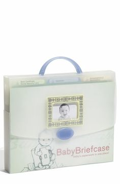 Top Reviewed Baby Shower Gift: BabyBriefcase® Document Organizer $29.95