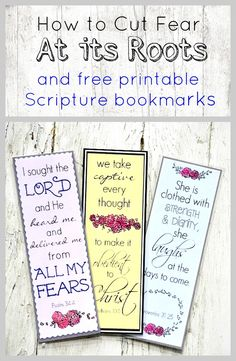 The ONE thing I need to understand about God to root out the deep tentacles of fear. With FREE Bible verse bookmarks on fear.