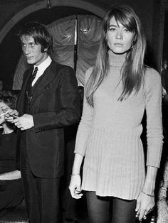 "kahuna68: "" Jacques Dutronc with Francoise Hardy. """