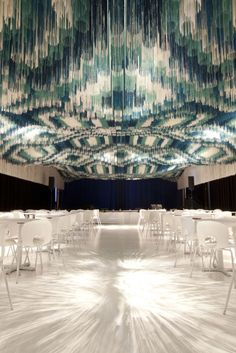 whoa    'the monsoon club' by serie architects at the kennedy center for the performing arts in washington D.C., USA