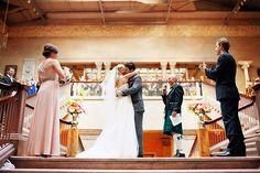 Art Institute of Chicago Wedding at McKinlock Court | Nisse + Matt