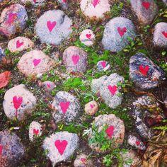 Loving stones in Botkyrka, Sweden. Photo by Malin Sköld
