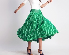 green AND polka dotted?  be still my heart