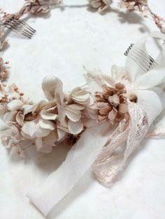ナチュラルピンクの花冠
