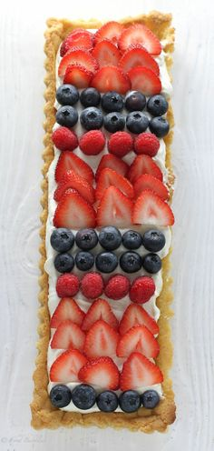 Mixed Berry Limoncello Tart - FoodBabbles.com