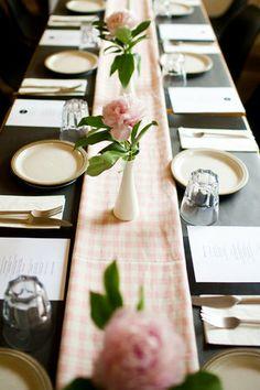 simple table decor @ spruce