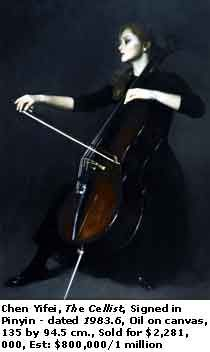 The Cellist-Chen Yifei