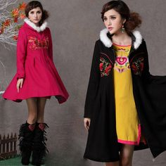 Chinese Style Cost/ Jacket - Modern Chinese Style Clothing: Winter Flower $164.99 (124,30 €)