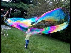 Summer Fun with Kids - Making Mega Bubbles - Inner Child Fun Outdoor Games, Outdoor Fun, Outdoor Activities, Backyard Games, Fun Summer Activities, Toddler Activities, Daily Activities, Projects For Kids, Crafts For Kids