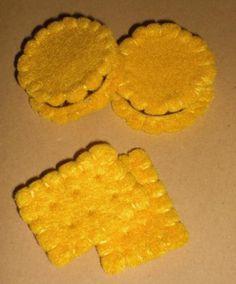 Butterkeks und Doppelkeks aus Stoff für die Kinderküche   kreative.stoffe.de