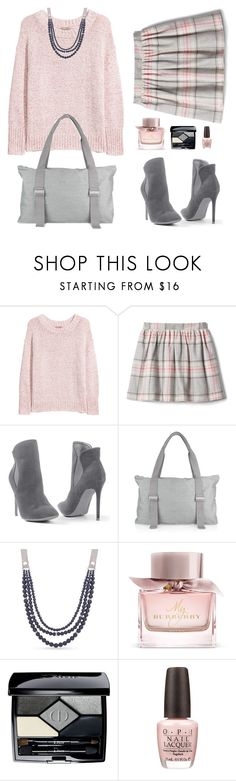 """Get Cozy: Chunky Knits"" by alara-cary on Polyvore featuring H&M, Venus, Anne Klein, Burberry, Christian Dior, OPI and chunkyknits"