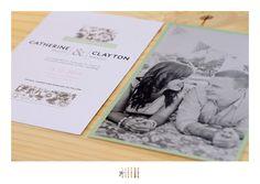 clayton + cath || wedding invite || geliefde studio Invite, Wedding Invitations, Stationery, Polaroid Film, Studio, Books, Art, Art Background, Stationery Shop