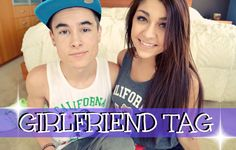 GIRLFRIEND TAG | Kian Lawley + Andrea Russett Literally the most adorable and most hilarious youtubers and couple I've ever seen.......better than Jenna Marbles and Max no Sleeves and that says ALOT
