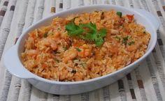 Para agradar o maridão, no dia dos pais fiz esse arroz de forno, que é o preferido dele e fica muito saboroso.     A bem da verdade, for...