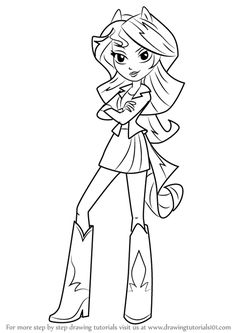 Coloriages 224 Imprimer My Little Pony Et Equestria Girls