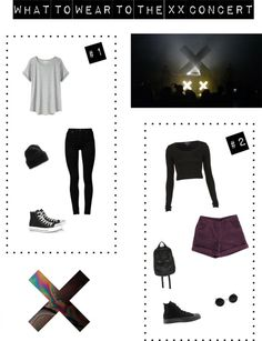 What to wear to the Xx concert (or any Indie concert)