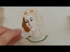 Part 1 of a 2-part hand embroidery tutorial showing how to stitch a simple Opus Anglicanum piece. Part 2 here: https://youtu.be/CLorvGi4qqo Designed and stit...
