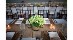burlap wedding decoration ideas