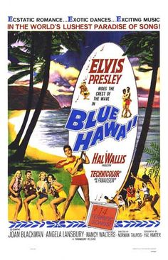 *1961, Blue Hawaii movie poster