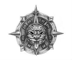 Aztec Tattoo Design Body Art
