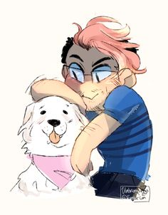Mark and Chica!