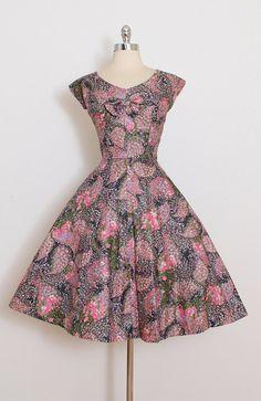 Vintage Dress Marcel Fashions by millstreetvintage Vestidos Vintage, Vintage Dress Patterns, Vintage 1950s Dresses, Retro Dress, Vintage Outfits, Beautiful Frocks, Beautiful Outfits, Dressy Dresses, Cute Dresses