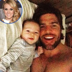 Mike Fisher shares adorable photo with baby Isaiah