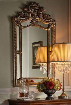 French Country Home love the mirror French Interior, French Decor, French Country Decorating, Country House Design, French Country House, Country Living, Country Décor, French Cottage, Decoration Baroque