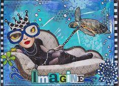 From Magazine to Art Journal Page - a wonderful tutorial.  I love Sandra van der Geest!