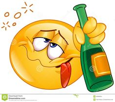 Drunk Emoticon Stock Vector - Image: 48966854