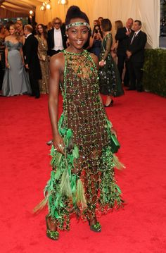 Pin for Later: Lupita Nyong'o Is Pumped For Her Met Gala Debut
