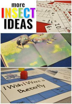 Insect Ideas {Part 2} - Sharing Kindergarten #insecttheme #thematicunits #kindergarten