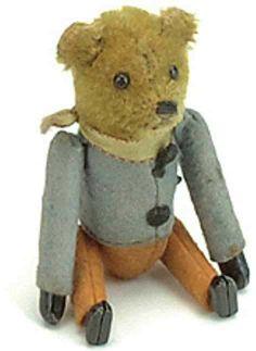 Schuco Tin-Dance Figures Bear as a tumbling-figure with clockwork