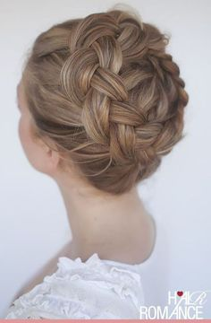 High Braid Crown - Best Festival-Approved Hairstyles - Photos
