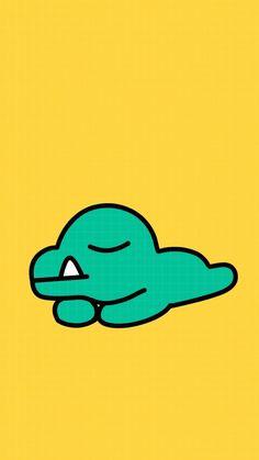 카카오프렌즈 콘 Kakao Friends, Iphone Wallpapers, 2d, Character Design, Characters, Graphics, Brown, Cute, Cards