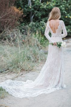 FIND THE ONE. Selena Bridal Gown by Goddess By Nature, ships anywhere. See more: www.goddessbynature.com #bride #weddingdress #lacedress #bridal #weddinginspiration