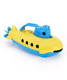 Blue & Yellow Submarine by Green Toys $9.99 [Video] https://www.youtube.com/embed/UcOxyzj9qdY?list=UUfYOsUBt1yl1fodUrTeh_AA&controls=0&showinfo=0