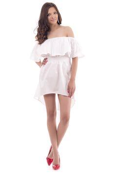 Ρούχα Γυναικεία Shoulder Dress, Dresses, Fashion, Vestidos, Moda, Fashion Styles, Dress, Fashion Illustrations, Gown