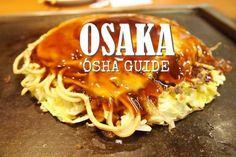 10 ร้านอาหารและร้านขนมสุดโอชาของโอซาก้า
