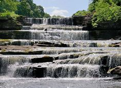 Went here on...amazing place :) Aysgarth Falls Wensleydale. Robin Hood Prince of Thieves-fight between Robin Hood and Little John filmed here