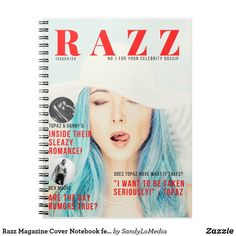 Razz Magazine Cover Notebook featuring Topaz  #razzmag #dreamcatchers #bookmerch #dreamcatchers #fanningthefame #sandylomedia Danny D, Dreamcatchers, Celebrity Gossip, Topaz, Things I Want, Gay, Notebook, Romance, Magazine